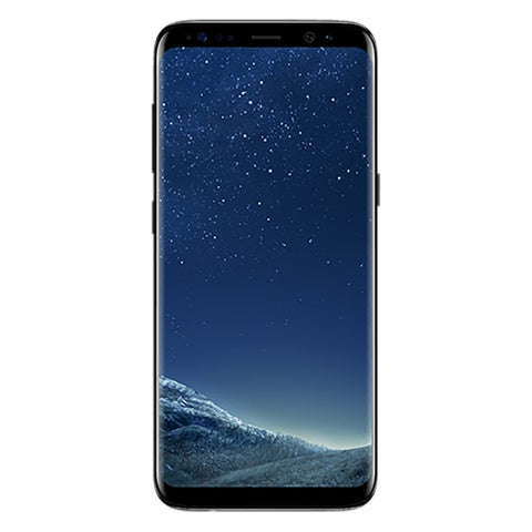 "Samsung Galaxy S8 SM-G950U 64 GB Smartphone - Midnight Black - 5.8"" S"