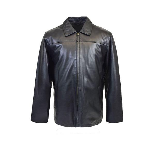 Mens Classic Lambskin Straight Bottom Jacket