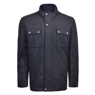 Men's Wool Standup Collar Jacket