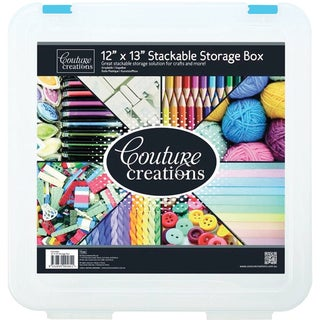 "Couture Creations Stackable Storage Box 12""X13""-"