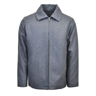 Men's Wool Blend Zip Jacket (More options available)