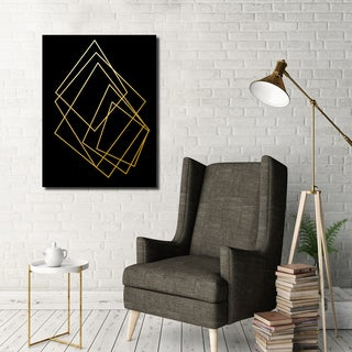 Ready2HangArt Wall Decor 'Gilt Mod I-B' in ArtPlexi