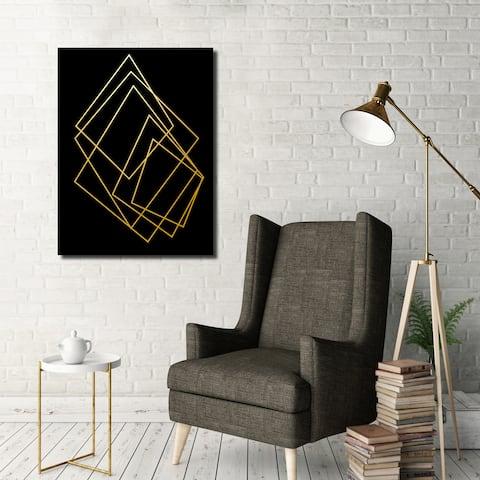 Ready2HangArt Wall Decor 'Gilt Mod I-B' in ArtPlexi