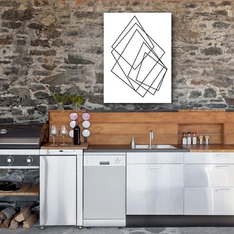 Ready2HangArt Wall Decor 'Gilt Mod I-W' in ArtPlexi