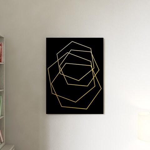 Porch & Den Wall Decor 'Gilt Mod III-B' in ArtPlexi