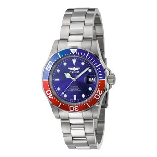 Invicta Men's 'Pro Diver' 5053 Blemished Stainless Steel Automatic Dial Link Bracelet Watch
