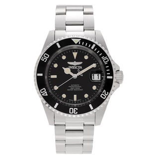 Invicta Men's 8926OB 'Pro Diver' Blemished Stainless Steel Black Dial Link Bracelet Watch