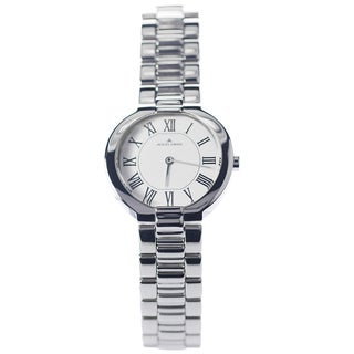 Jacques Lemans Women's 1-1069B 'Siena' Blemished Stainless Steel White Roman Numeral Dial Link Bracelet Watch
