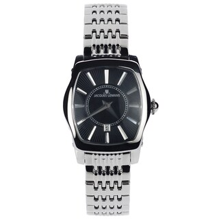Jacques Lemans Women's 1-1357E Blemished Stainless Steel Black Dial Link Bracelet Watch|https://ak1.ostkcdn.com/images/products/15293023/P21761018.jpg?_ostk_perf_=percv&impolicy=medium