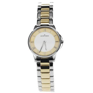 Jacques Lemans Women's 1-1555F Blemished Two Tone Stainless Steel Roman Numeral Dial Link Bracelet Watch|https://ak1.ostkcdn.com/images/products/15293094/P21761026.jpg?impolicy=medium