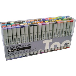 Copic Sketch Markers 72pc Set-|https://ak1.ostkcdn.com/images/products/15293478/P21761239.jpg?_ostk_perf_=percv&impolicy=medium
