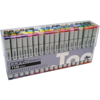Copic Sketch Markers 72pc Set-Set A