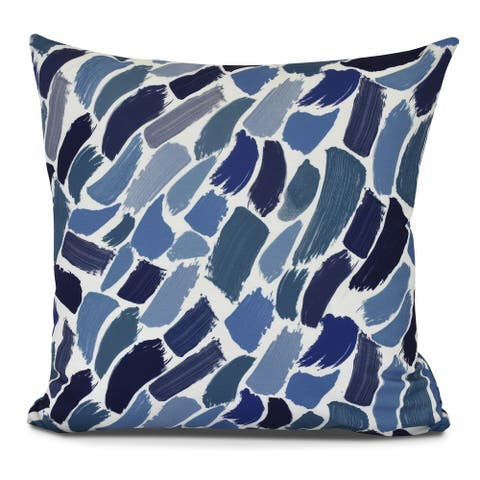 Wenstry, Geometric Print Outdoor Pillow