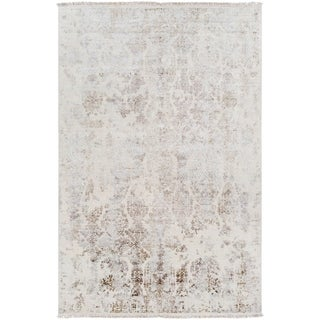 Hand-Knotted Evelynne Wool Rug (6' x 9')