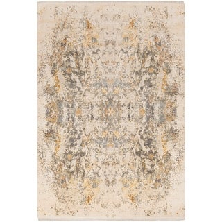 Hand-Knotted Capricia Silk Rug (6' x 9')