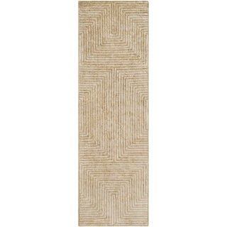 "Hand-Tufted Emeline Viscose Rug (2'6"" x 8')"