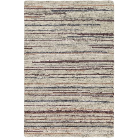 Porch & Den Canopy Hand-knotted Wool Area Rug
