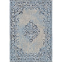 The Curated Nomad McAllister Hand-woven Cotton Area Rug - 5' x 7'6
