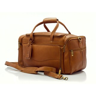 Muiska Hugo Colombian Vaquetta Leather 20-inch Spacious Carry-on Duffel Bag