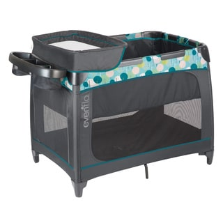 Evenflo Aeris BabySuite Playard, Deep Lake