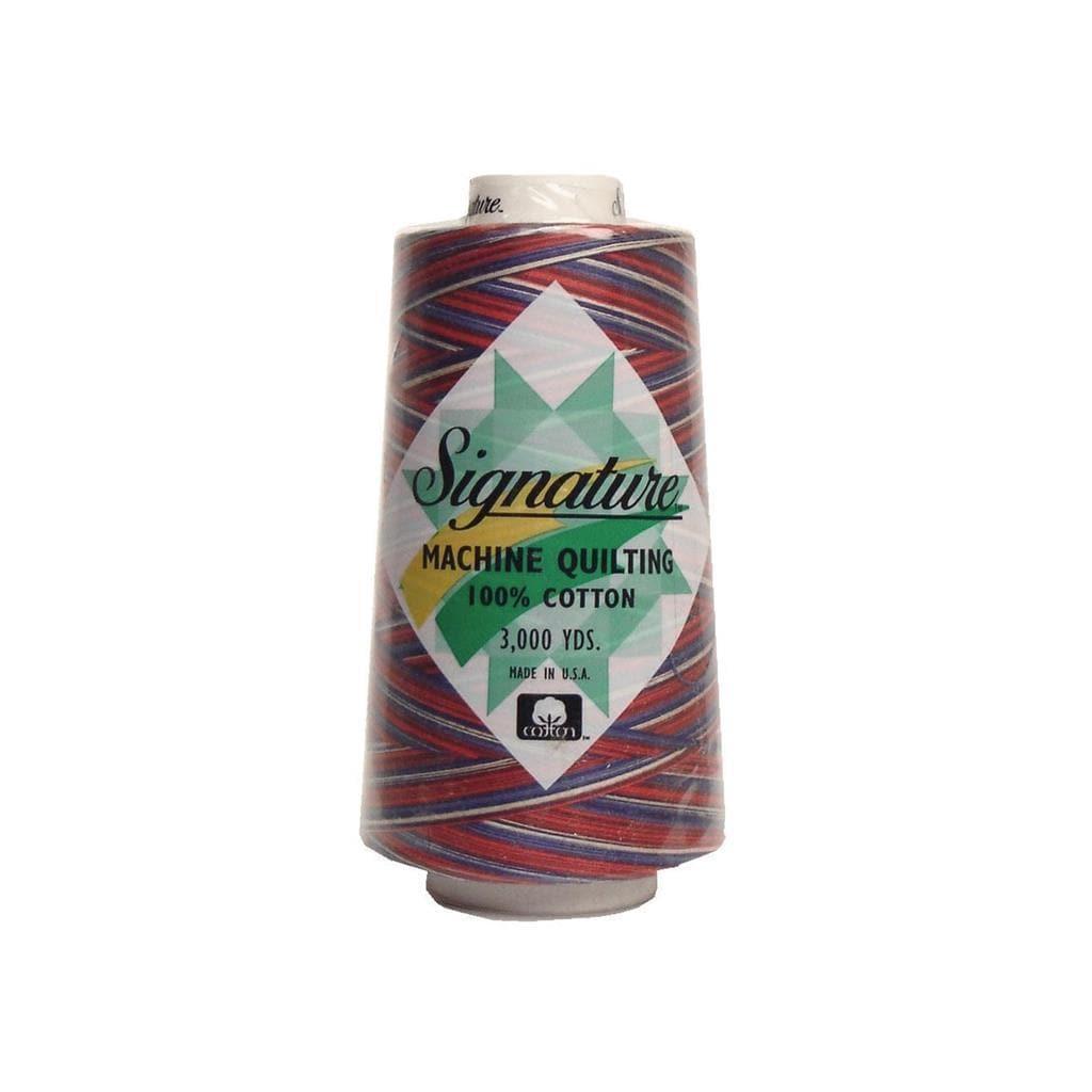 American Crafts Signature 100%Ctn Quilt Thread 3000yd Var...