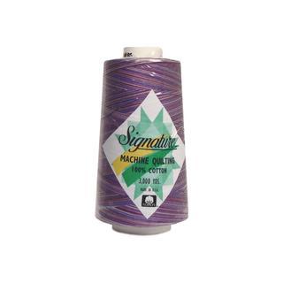 Signature 100%Ctn Quilt Thread 3000yd Var PurpleHz