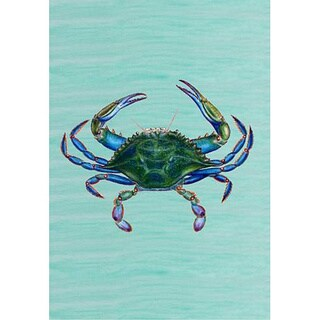 Betsy Drake Male Blue Crab 12.5-inch x 18-inch Flag