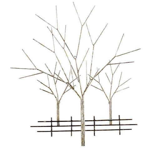 Enchanted Orchard Small Metal Wall Art by Metal Perspectives