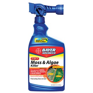 Bayer Advanced 2-in-1 Moss and Algae Killer Ready-To-Spray, 32-Ounce