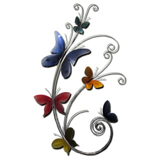 Monarch Metal Wall Art by Metal Perspectives