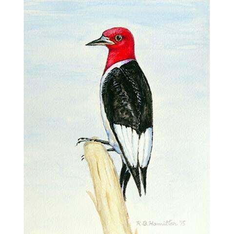 Woodpecker 12.5-inch x 18-inch Flag