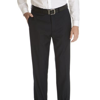 Caravelli Slim Men's Navy Flat Front Pants