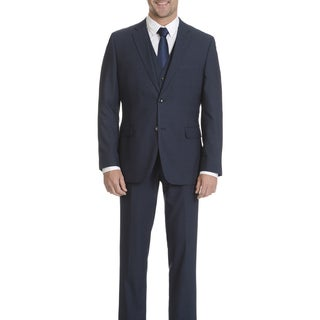 Caravelli Men's Navy 2-button Vested Suit