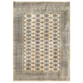 Herat Oriental Pakistani Hand-knotted Bokhara Wool Rug (5'6 x 7'5)