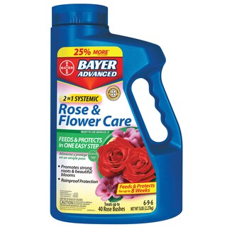 Bayer 2 In 1 Systemic Rose and Flower Care Granules, 5-Pound