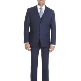 Caravelli Collezione Midnight Blue Vested 2-button Suit
