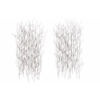 Winter Thicket Metal Wall Art by Metal Perspectives