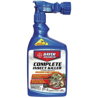 Bayer Advanced Complete Insect Killer for Soil and Turf Ready-To-Spray, 32-Ounce