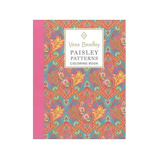 Design Originals Vera Bradley Paisley Coloring Bk