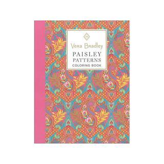 Design Originals Vera Bradley Paisley Coloring Bk