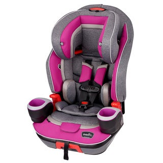 Evenflo Evolve 3-in-1 Combination Booster Car Seat, Dreamer