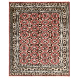 Herat Oriental Stani Hand Knotted Bokhara Wool Rug 6 7 X