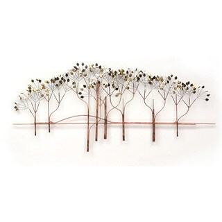 The Elms Metal Wall Art by Metal Perspectives