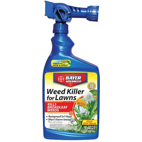 Bayer Advanced Weed Killer for Lawns Ready-to-Spray, 32-Ounce