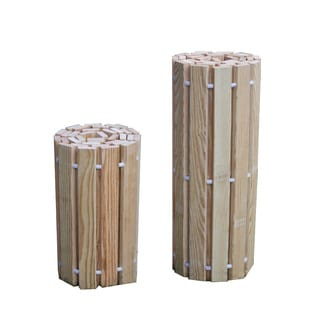 Pressure Treated Pine Outdoor 2 Foot Wide Roll Up Walkway -Multiple Lengths