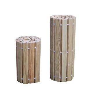 Pressure Treated Pine Outdoor 2 Foot Wide Roll Up Walkway -Multiple Lengths