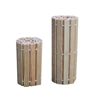 Link to Pressure Treated Pine Outdoor 2 Foot Wide Roll Up Walkway Similar Items in Outdoor Decor