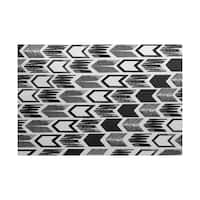 Arrow, Geometric Print Indoor/Outdoor Rug