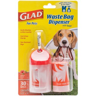 Glad Waste Bag Dispenser With Scented Bags