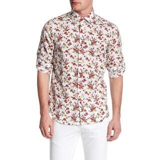 Slim Fit Stylish Linen Shirt